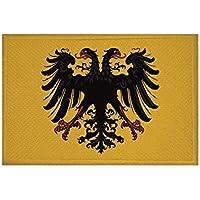 U24parche Heiliges Antigua Roma DT. NAT. Bandera de aufbügler Patch 9x 6cm