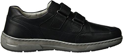 Waldläufer 365301 Ama200 002, Chaussures Avec Velours Homme Noir (noir)
