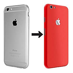 iPhone 6 Skin / iPhone 6 Skin Sticker / iPhone 6 Sticker / Convert iPhone 6 into Red / iPhone 6s Skin / iPhone 6s Skin Sticker / iPhone 6s Sticker / Convert iPhone 6s into Red - Johra Skin Sticker Converter for Apple iPhone 6 / iPhone 6s - Red