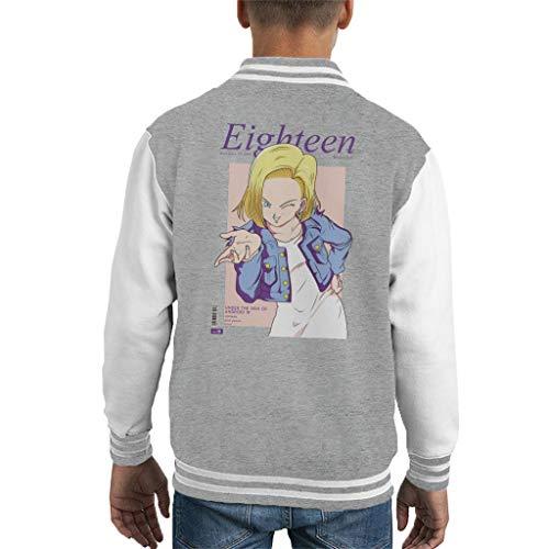 Dragon Ball Z Kid's Varsity Jacket ()