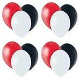 Party supply Balloons Rot, Weiß, und Schwarz 11