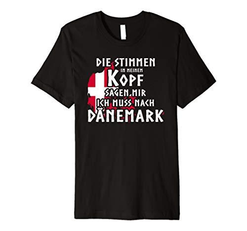 Dänemark T-Shirt Stimmen In Meinem Kopf