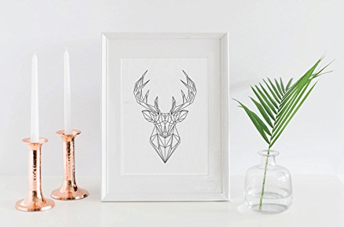 cerf-40-x-imprime-geometrique-hiver-mur-art-origami-deer-geometrique-art-print-cerf-animal-diy-mur-a
