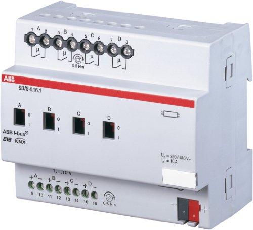 Preisvergleich Produktbild ABB SD/S4.16.1 EIB/KNX Schalt-/Dimmaktor, 16A, REG, 4-fach