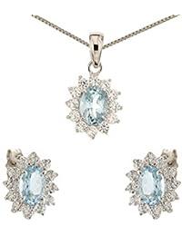 funzionario di vendita caldo seleziona per genuino sezione speciale Amazon.it: Oro bianco - Parure di gioielli / Donna: Gioielli