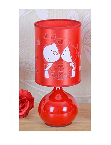 Articoli per nozze amore ogni altri aromaterapia rosso lampada lampada da comodino lampada da tavolo di regali di nozze
