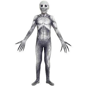 Morphsuits Disfraz infantil diseño de monstruo de leyenda urbana,talla grande, 122 a 137 cm, 10a12años
