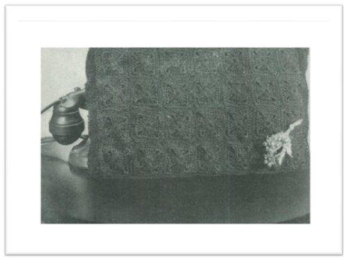 #2395 PETER PAN CORDET BAG VINTAGE CROCHET PATTERN (English Edition) (Pan-bag Peter)
