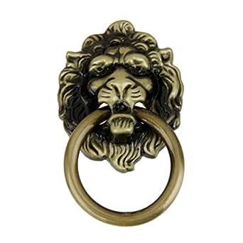 ... Generic Imported Vintage Lion Head Pull Handle Door Cabinet Dresser  Drawer Knob
