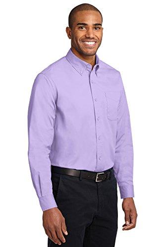 kectelly Port Authority–Camicia a maniche lunghe, di facile manutenzione 2Bright Lavender