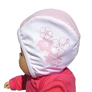 Piwapee - Bonnet de bain Bébé Nageur Rose poudré imprimé Vahiné (6 ... 3f16fb84d25