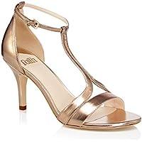 011e95a2131 Debenhams Faith Womens Rose  Donna  T-Bar Stiletto Heels Sandals