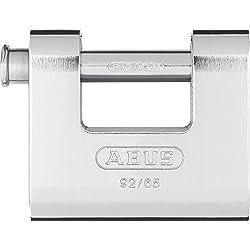 ABUS 30609 Cadenas 92/65 mm Argent