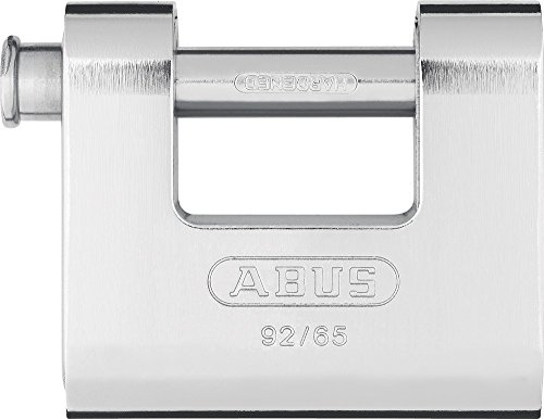 Abus 92/65 B - Candado Monoblock Rectangular blindado 65mm Blister
