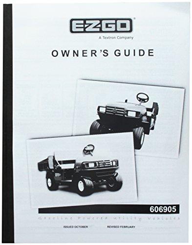 E-Z-GO EzGo 6069052008Betriebsanleitung für Gas-MPT-Helmschale/Industrie Nutzfahrzeugen