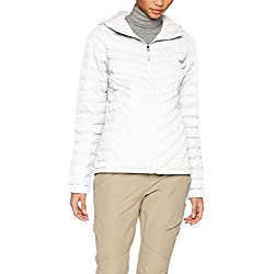 The North Face W Thermoball Hoodie Chaqueta, Mujer, Gris (Vaporous Grey), S