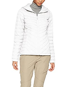 The North Face W Thermoball Hoodie Chaqueta, Mujer, Gris (Vaporous Grey), L