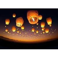Lote de 20lámparas volantes ovaladas tailandesas-Norma de la CE