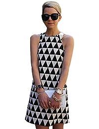 Beikoard Vestito Lungo Donna Gonna 2019 Lunga Fiori Donna Vestito Donna  Elegante Abbigliamento Vestito Donna Mini Abito Corto da Donna… f9ce9ddf0a1