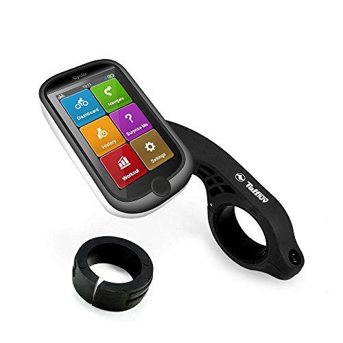 Tuff Luv Lenkerhalterung / Halterung Out-Front Für Mio Cyclo GPS - Schwarz (Mio Herzfrequenz-monitor-uhr)