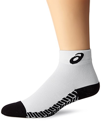 ASICS Snap Down ES Socken, herren Mädchen Jungen Damen, weiß/schwarz, Small