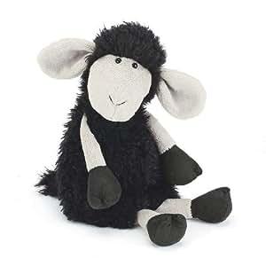 Jellycat - Peluche Mouton Noir Tiggalope - 35 cm 35xcm