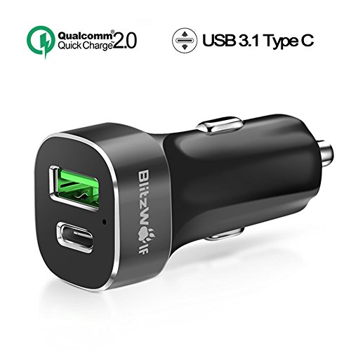 Confident Aukey® Lenovo Stromstecker Power Usb Charger Adapter 3.0a Stecker Charger Weiß Cell Phones & Accessories Cell Phone & Smartphone Parts