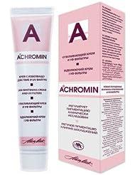 Achromin - Crème blanchissant pour les taches sombres, taches de vieillesse et post-grossesse, taches brunes - 45 ml