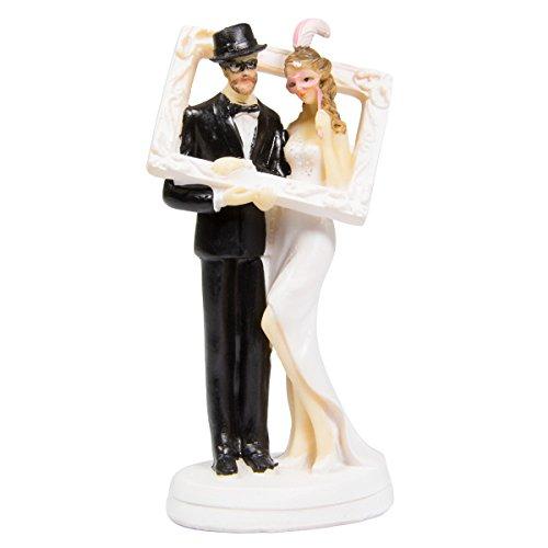 Figure Wedding Couple Couple In Photo Frame Cake Wedding Cake Party Decoration