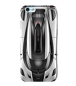 PrintVisa Designer Back Case Cover for Apple iPhone 6 (Fast Grey Car)