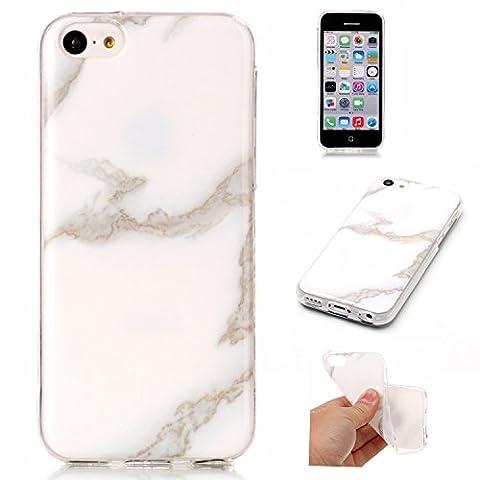 Cozy Hut Für iPhone 5C Handyhülle mit Marmor / Marble