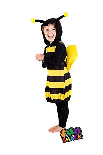 Fun Shack Kostüm Mädchen Bumble Bee Kostüm Baby Kleinkind Alter 1 - 2 Jahre