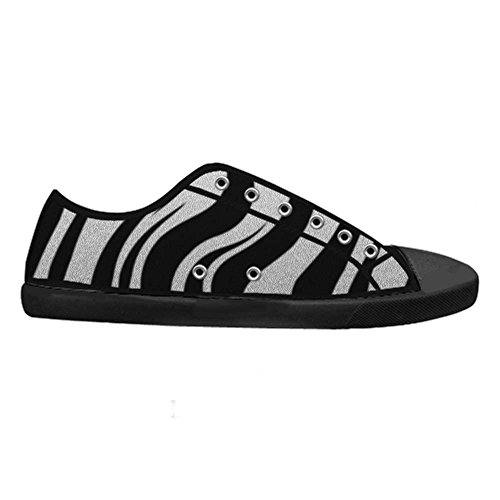 Dalliy zebra stripe Men's Canvas shoes Schuhe Footwear Sneakers shoes Schuhe C