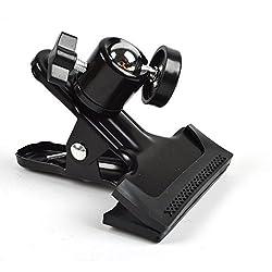 J Clip Clamp Mount for Gopro Hero 1 2 3 3+ 4 Sprots Camera Sjcam Sj4000 Sj5000 Sj5000� Xiaomi Sports Action camera Black