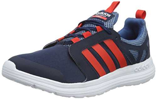 adidas Cloudfoam Sprint, Chaussures de Sport Homme, Noir, Taille Unique Rouge / blanc (bleu marine collégial / rouge brillant/ blanc Footwear)