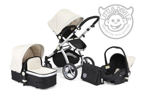BLACK & WHITE CARRERA SPORT 3-in-1 Baby Travel System/Pushchair/Pram/Buggy/Stroller 41GyyaUrOfL