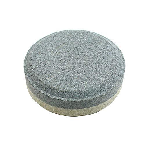 Nakw88 Piedra de Afilar Ligero Dispositivo Exterior Redondo Grano Multiuso Borde Bolsillo Accesorios...