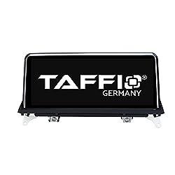 "TAFFIO® Android 9.0 HD Anti Glare Touchscreen GPS Navigation SD USB Multimedia Media Player für BMW X5 X6 E70 E71 mit CCC System *10.25"" Display, 8-Core Prozessor 4GB RAM + 32GB ROM*"