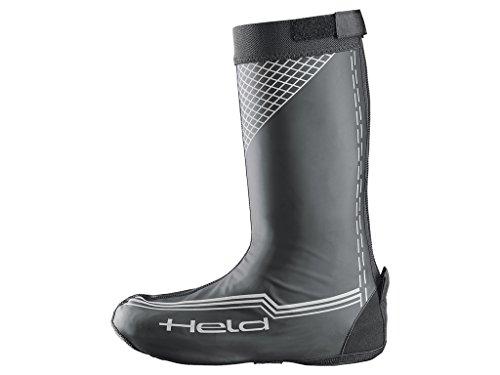Held pioggia stivali/Copriscarpe Boot Skin Long Nero