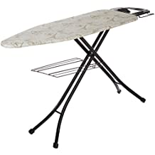 Amazon Brand - Solimo Folding Ironing Board with Multi Function Tray
