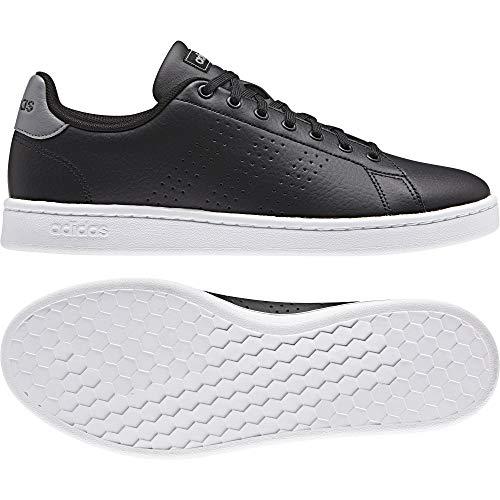 adidas Advantage, Scarpe da Ginnastica Basse Uomo, Nero Core Black/Grey 0, 38 EU