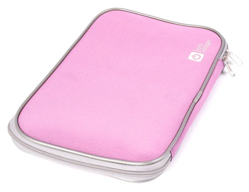 DURAGADGET Rosa Laptoptasche für Sony Vaio 13,1-13,3 Zoll VPC Serie (S/Y und Z Serie)