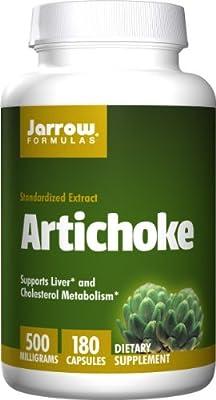 Jarrow Standardised Artichoke Extract (500mg, 180 Capsules) from Jarrow FORMULAS