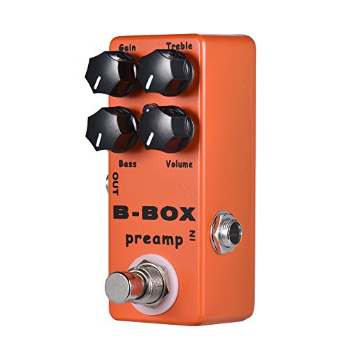 Price comparison product image HJL&XD Electric Guitar Effect Pedal with Digital Modulator / Effects True Bypass / Full Metal Shell