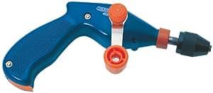 """8 mm-Mandrin de perceuse à main-Pistolet de la perceuse avec entièrement enfermée rapports rendent Particulièrement adaptée pour une utilisation en éducatif facilities. ce modèle est peu de rangement dans la poignée et un mandrin 3 mâchoires Chuck. Capacité 8 mm - 3/8 """"- Emballage de présentation."""