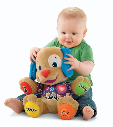 Fisher-Price Laugh & Learn Learning Puppy 41Gz15s4gHL