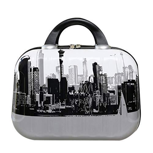 e Hülle Hart Tasche Make-up Bag Travel Kit Organizer Reißverschluss Kosmetiktasche im Koffer Geformt ()