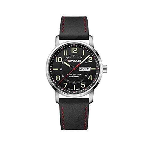 Wenger Attitude Day&Date Relojes Hombre 01.1541.101