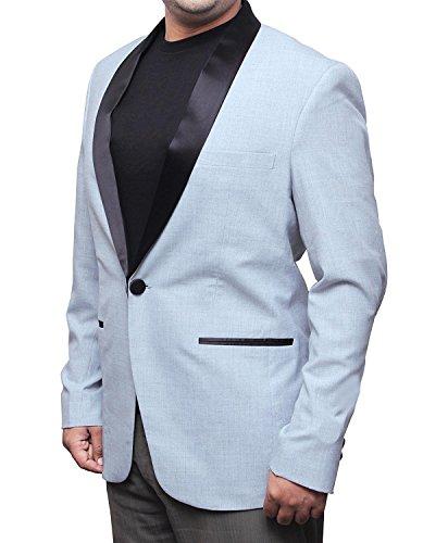 Suicide Squad Jared Leto Grey Tuxedo Blazer Coat - Suicide Squad Jared Leto Grey Tuxedo Blazer Coat Gris