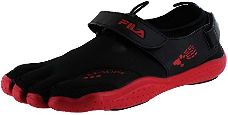 Fila skeletoes EZ diapositiva de drenaje Hombres cinco dedos Reino Unido tamaños zapatos de minimalista